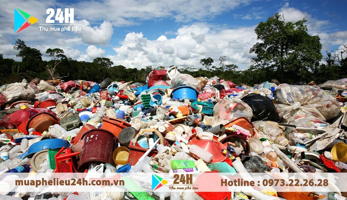 Giá phế liệu nhựa hôm nay